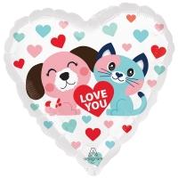 ILY собака и кошка